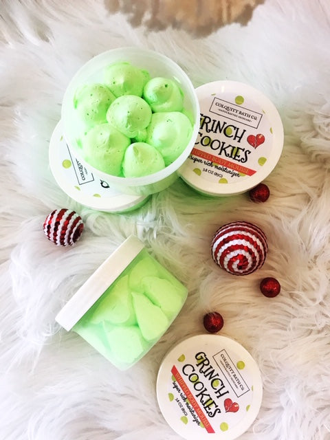 Grinch Cookies Body Mousse Moisturizer  (LIMITED TIME ONLY)