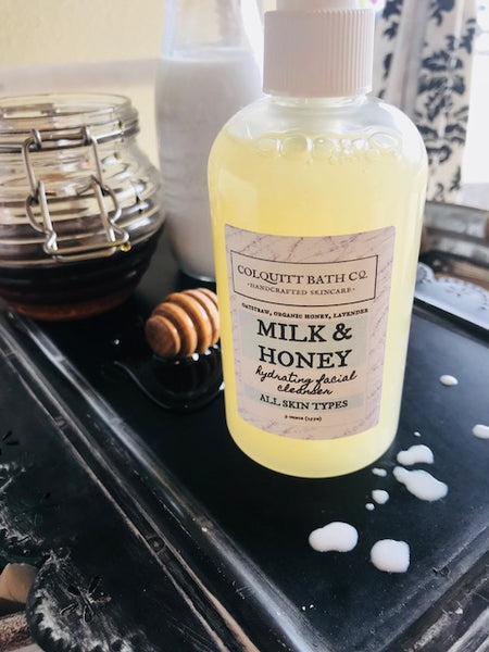 Milk & Honey Facial Cleanser 8 ounce