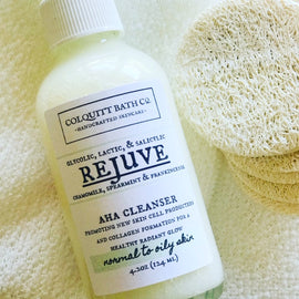 REJUVE Alpha Hydroxy Facial Cleanser 4 oz.