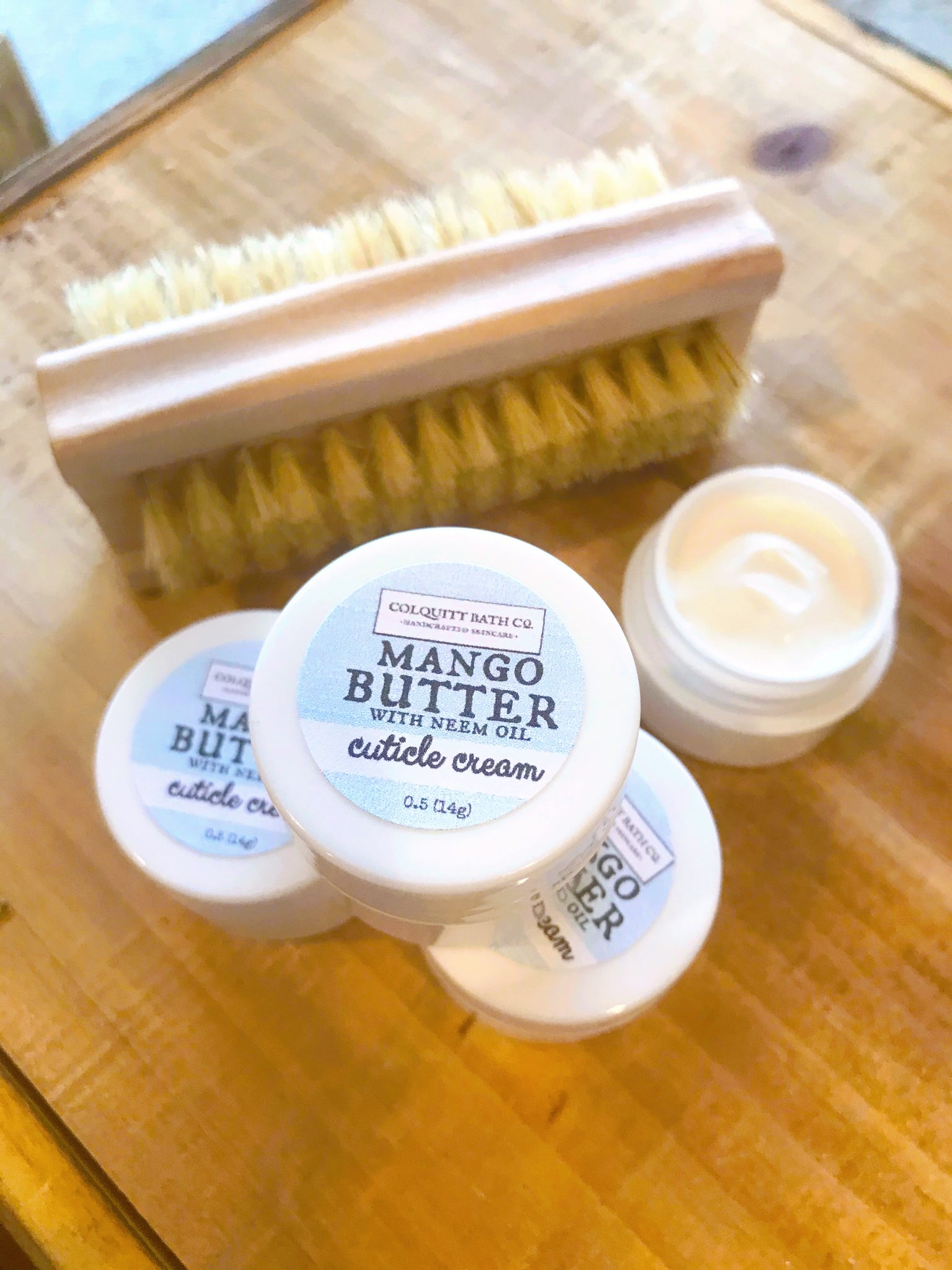Mango Butter Cuticle Cream .5 oz