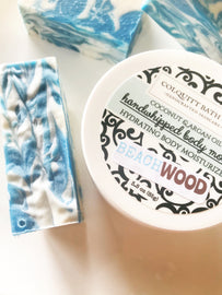 Gift Box Duo With Whipped Body Mousse And Handmade Soap