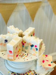 Birthday Cake Soap 6.0 ounces