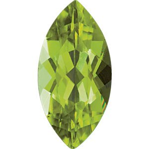 Marquise Peridot Slim Profile Ring, 10k Yellow Gold, 12k Green and Rose Gold Black Hills Gold Motif