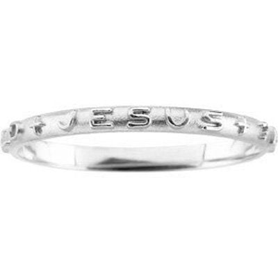'What Would Jesus Do' Sterling Silver Prayer Ring