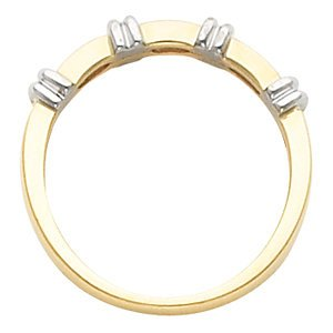 6mm 14k Yellow Gold Dome Comfort Fit Band
