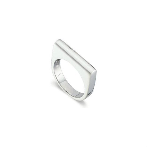 Sterling Silver Stackable 4.25mm Bar Ring, Size 7