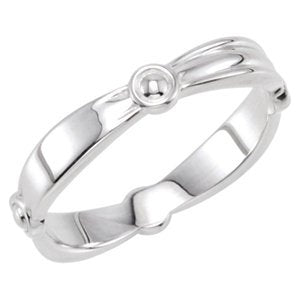 The Men's Jewelry Store (for HER) Reverse Tapered Stacking 3.5mm Sterling Silver Ring