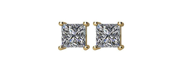 Diamond Stud Earrings, 14k Yellow Gold (.33 Cttw, Color GH, Clarity SI2-SI3)