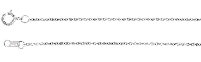 "25-Stone Diamond Silhouette Heart 14k White Gold Pendant Necklace, 16"" (1/8 Cttw)"