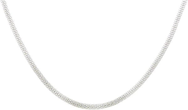 Stainless Steel 2.5mm Bismark Chain, 20""