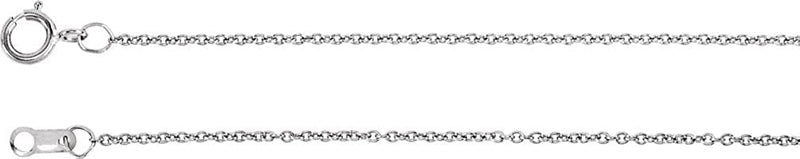 The Men's Jewelry Store (for HER) Infinity CZ Necklace, Rose Gold Plated Sterling Silver, 18""