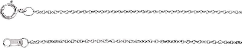 "Diamond Bar Y Necklace in 14k White Gold, 16-18"" ( .06 Ctw, Color H+, Clarity I1)"