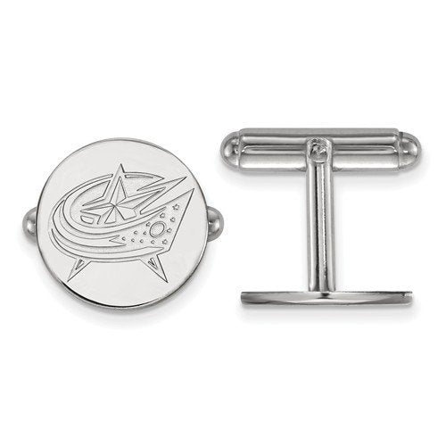 Sterling Silver, University Of New Orleans Round Cuff Links, 15MM