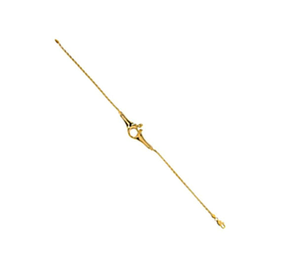 14k Yellow Gold Mother and Child Bracelet, 7""