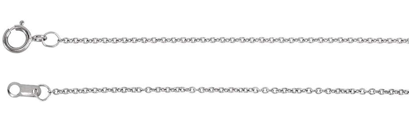 "Diamond Baguette Bar Necklace in Rhodium Plated 14k White Gold, 16-18"" (1/4 Cttw)"