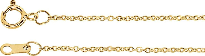 "Diamond Bar Necklace in 14k Yellow Gold, 18"" (1/3 Cttw )"