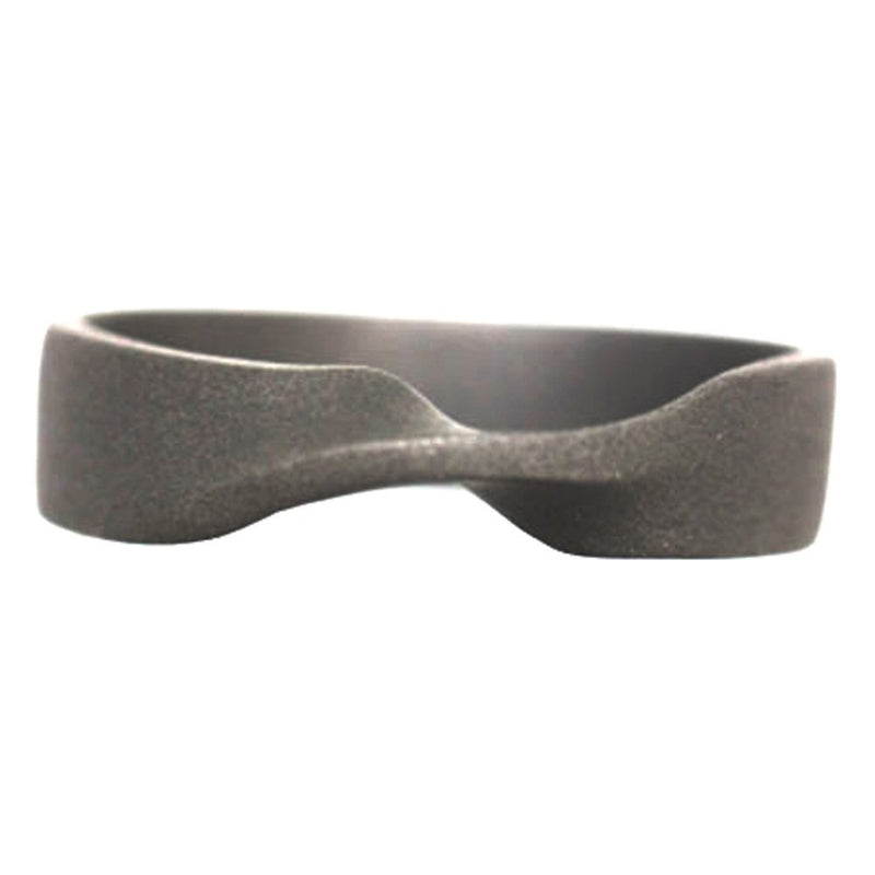 Sandblast Mobius 6mm Comfort Fit Titanium Wedding Band