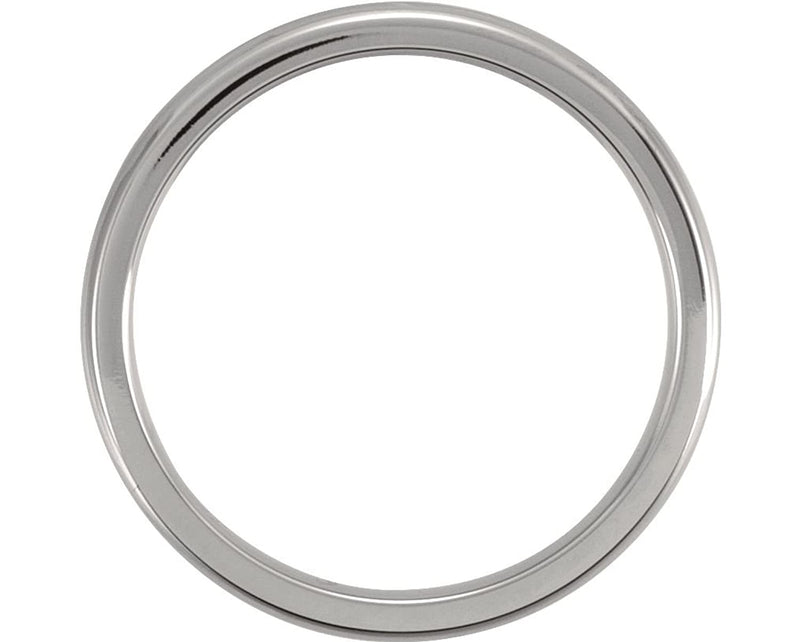 Titanium 3mm Comfort Fit Dome Band Size 7