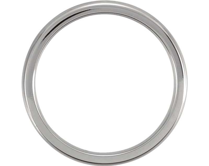Titanium 3mm Comfort Fit Dome Band Size 11.5