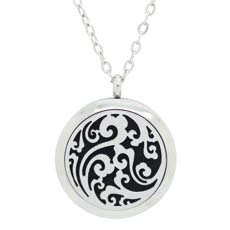 Patience Aromatherapy Pendant Necklace