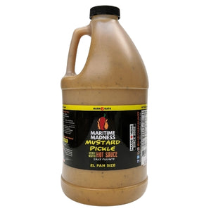 2L Fan Size Mustard Pickle