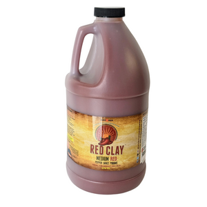 2L Fan Size Red Clay Medium Hot Sauce