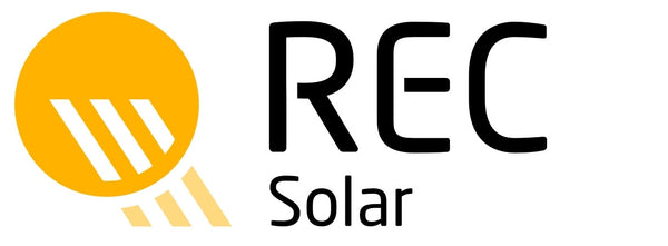 REC, REC280TP, 280 Watt, TwinPeak Series, Black Frame Solar Panel - Solar Gear Supply