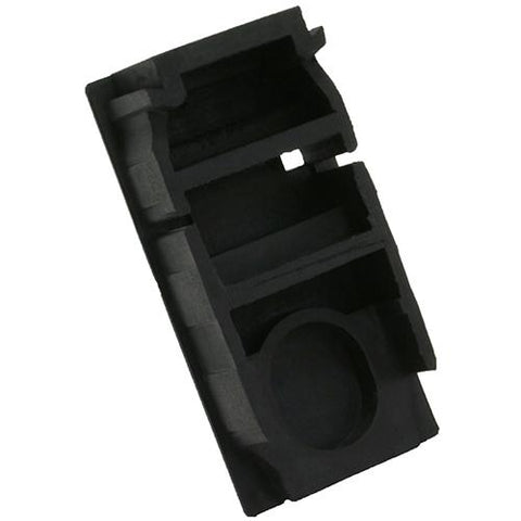 SnapNRack, 232-01043, Ground Rail End Cap, Black - Solar Gear Supply