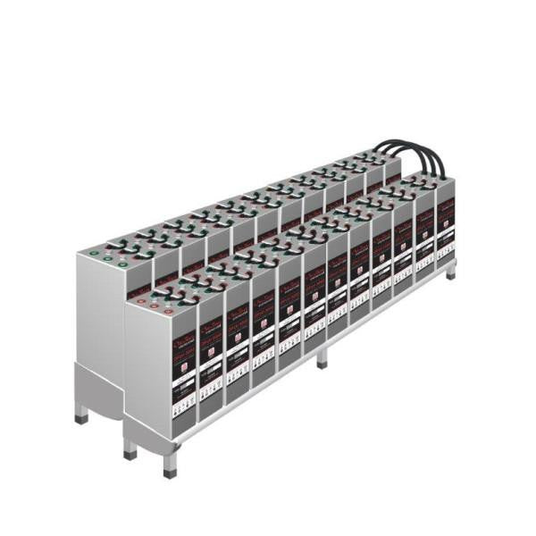Outback 48 Opzv 2000 Gel Battery System With Rack