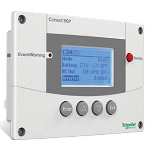Schneider Conext System Control Panel For XW+ and SW Inverters - Solar Gear Supply