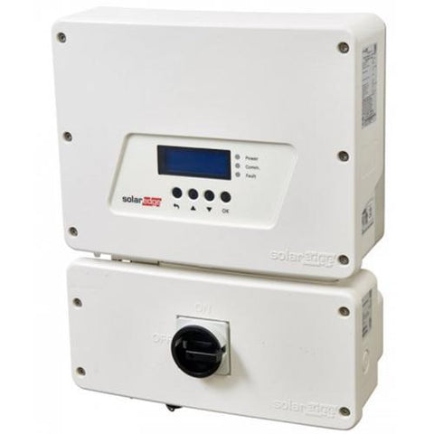 Solaredge, SE3800H-US000NNC2, Single Phase Inverter with RGM, 3800W, 240vac - Solar Gear Supply