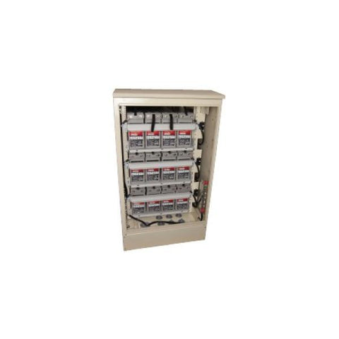 Outback, OBE-3-FT, Outdoor Battery Enclosure and Wiring for up to 12 Batteries - Solar Gear Supply