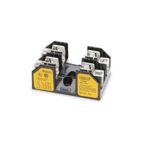 Fuse Block, H25030-2C, For Class H/R Fuses, 10-30A, 2 Pole - Solar Gear Supply