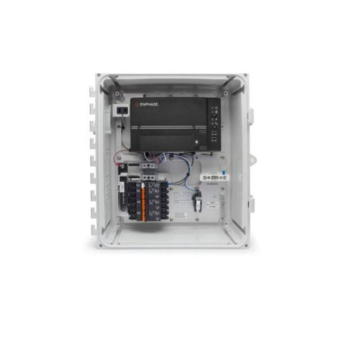 Enphase, XAM1-120-B M, AC Combiner Box, Metered, With Envoy-S, Metered Gateway, 3X 20A Breakers - Solar Gear Supply