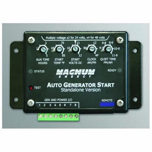 Magnum, ME-AGS-S, Automatic Generator Start – Network Version for use with Magnum Inverters and ME-RC50 - Solar Gear Supply