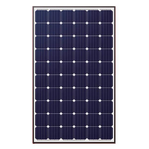 LONGI, LR6-60-290M, 290W, 60Cell, MC4, Mono, Black Frame Solar Panel - Solar Gear Supply