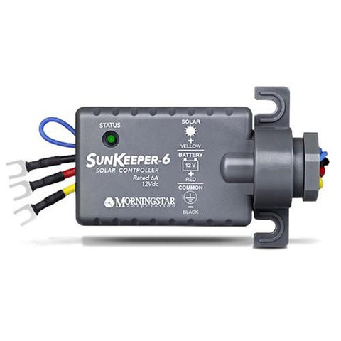 Morningstar, SK-6, PWM Control, Sunkeeper Charge Controller 6A 12V - Solar Gear Supply