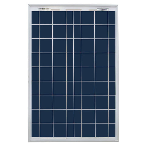 Dasol, DS-A18-10, Solar Panel, 10W, White Back/Clear Frame, Wires - Solar Gear Supply