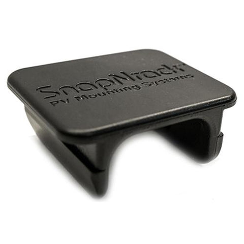 SnapNRack, 232-01106, Wire Retention Clip, Composite, Black - Solar Gear Supply