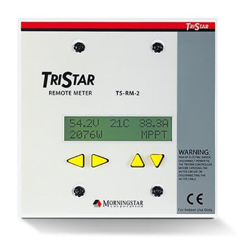 Morningstar TS-RM-2 Remote Digital Meter - Solar Gear Supply