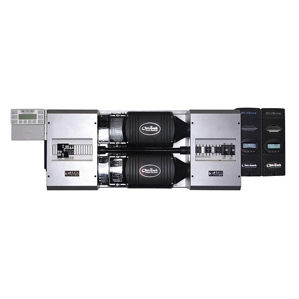 Outback Dual FP2 VFXR3048E, FLEXpower Two, 6.0kW Pre-Wired Power Panel, Inverter System - Solar Gear Supply