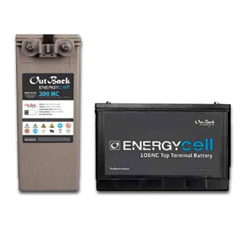 EnergyCell 170NC Nano-Carbon VRLA-AGM 170AH 12V Front Terminal - Solar Gear Supply