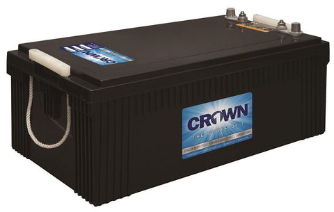 Crown 12CRV8D, 240Ah 12V Deep Cycle AGM Battery - Solar Gear Supply