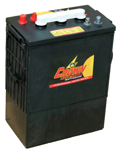 Crown CR430, 6V Flooded L16 Battery - Solar Gear Supply