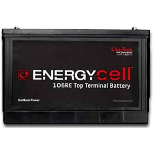 EnergyCell 78RE Top Terminal, VRLA Battery for Renewable Energy Storage - Solar Gear Supply