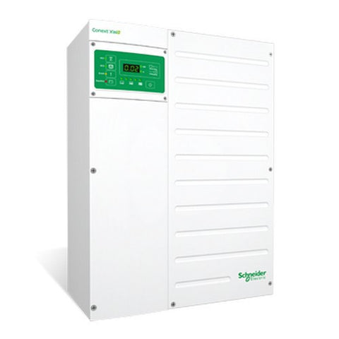 Schneider Conext XW+5548 NA  5.5 KW 120/240 Inverter/Charger 48VDC - Solar Gear Supply