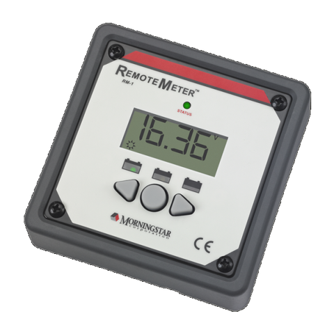 Morningstar, RM-1, Remote Meter - Solar Gear Supply