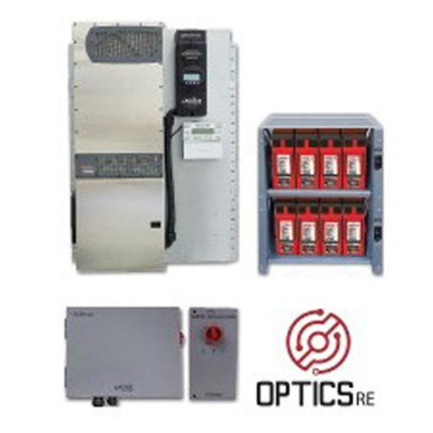 Outback SE-420GH, System-Edge-420GH Package with FPR-4048A, IBR-2-48-175, Eight 200GH, ICS+1 - Solar Gear Supply