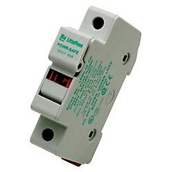 Fuse Holder, For KLKD, DIN Mount, 600VDC - Solar Gear Supply