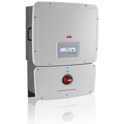 ABB, UNO-8.6-TL-OUTD-S-US-A, Non-Isolated String Inverter, 8600W - Solar Gear Supply